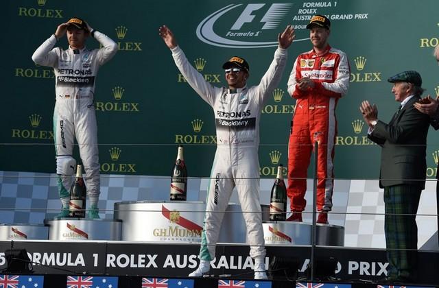 F1GP d'Australie 2015 : victoire de Lewis Hamilton 9347512015Rosberghamiltonvettel
