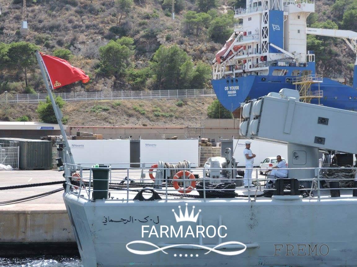 Royal Moroccan Navy Descubierta Frigate / Patrouilleur Océanique Lt Cl Errahmani - Bâtiment École - Page 3 93478620180104110151