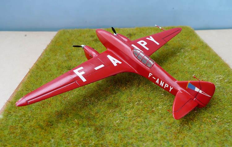 [Airfix + conversion Whirlybird] De Havilland 88 Comet... Français 935225Dh88Comet32