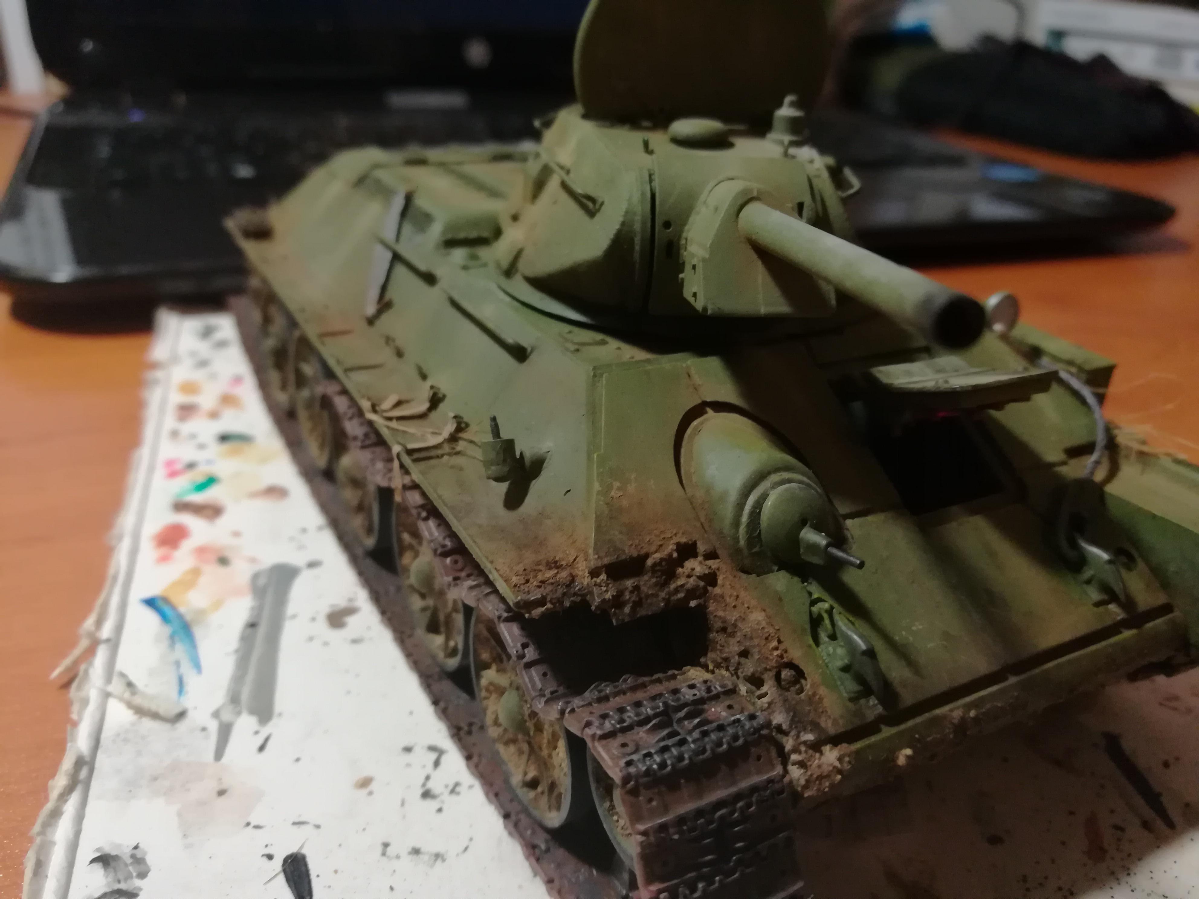 Front de l'Est, 1942 - T34 et Wehrmacht - Zvezda - 1/35 - Page 2 936410IMG20171209213522
