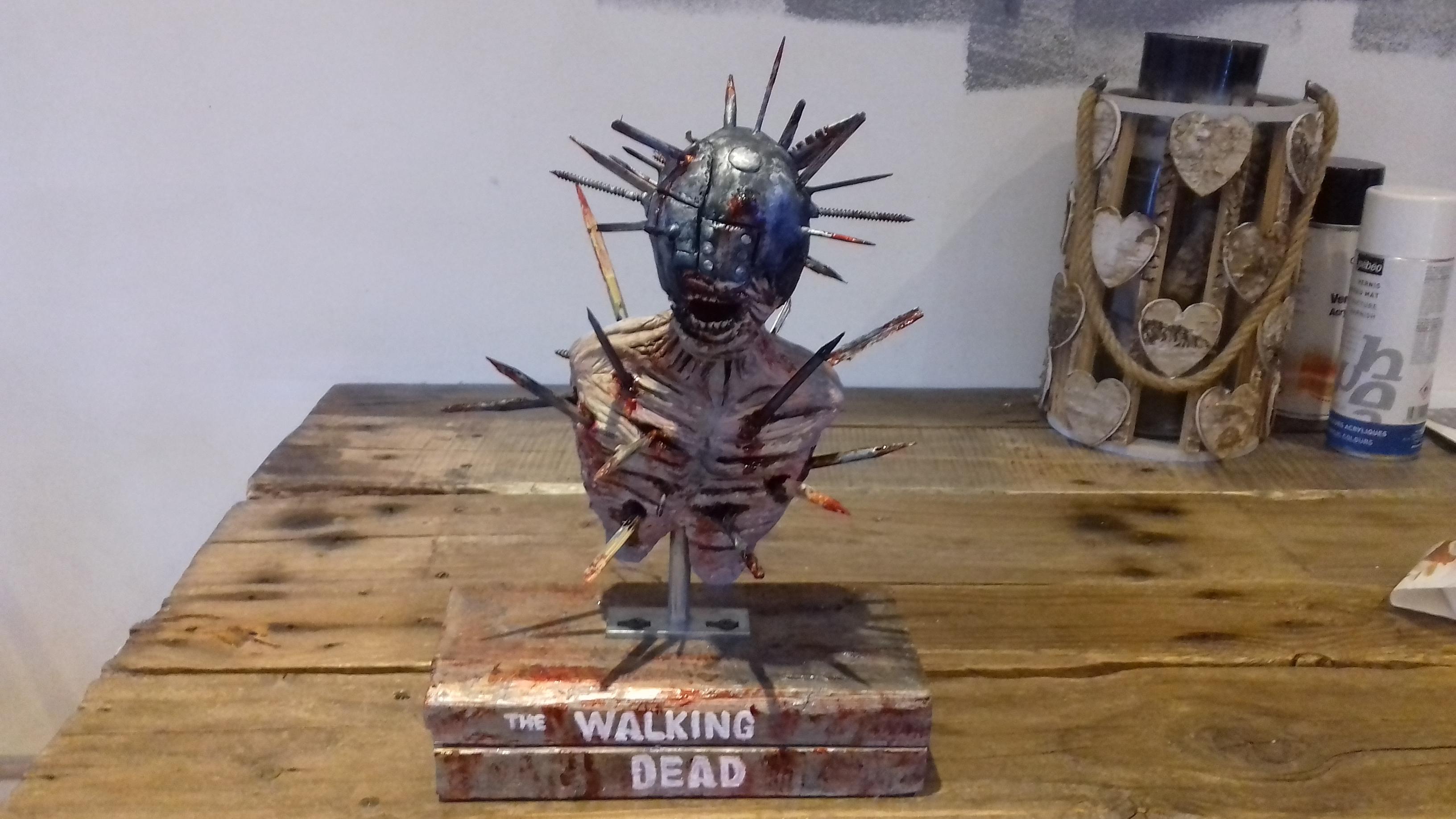 mini bust walking dead zombie saison 7 93726720180108084359