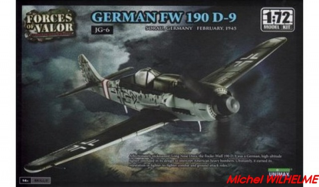 FOCKE WULF 190 D9  kit force of valor 1/72 939432forcesofvalor87008fockewulffw190d9attentioncestunemaquetteamonteretpeindreetpasuneminiaturedejamonteCopier
