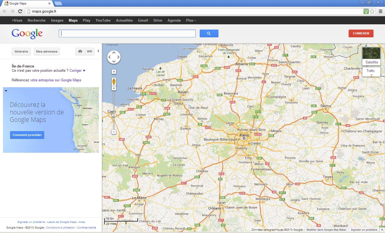 Tutoriel concernant Google Maps / Google Earth (outils de cartographie...) 939798TutoGoogleMaps1
