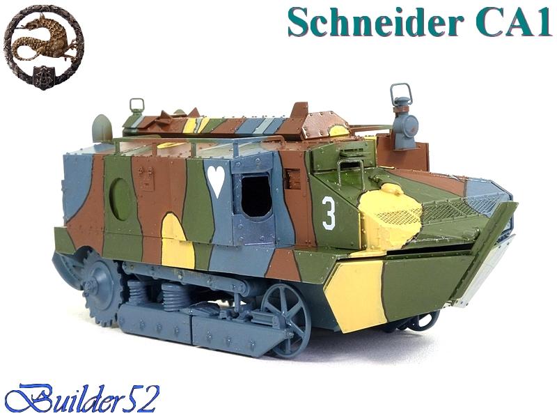 CHAR SCHNEIDER CA 1 - HOBBY BOSS 1/35 940396P1040954
