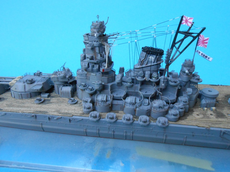 Yamato 1/700 fuji, PE,Pont en bois et babioles - Page 3 940520DSCN6142