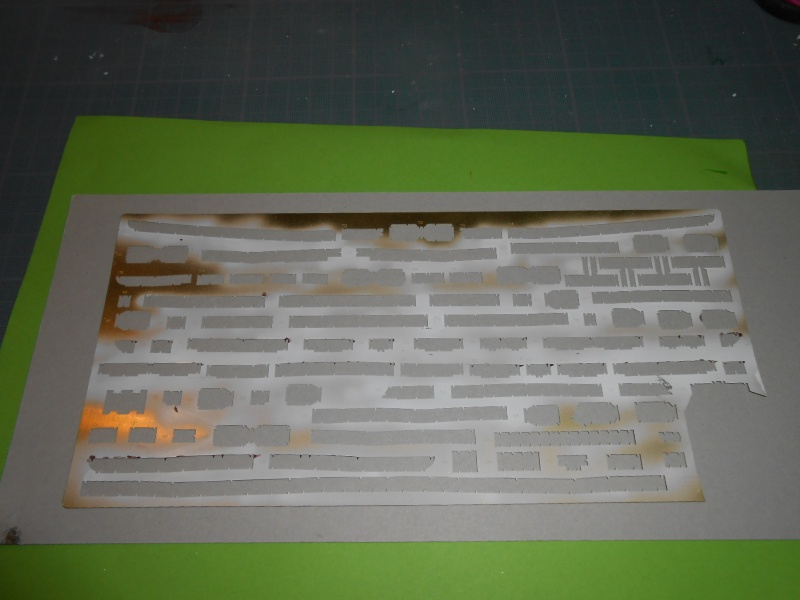 Hikawa Maru hopital 1/350 PE/pont en bois et babioles  - Page 6 941943DSCN5991