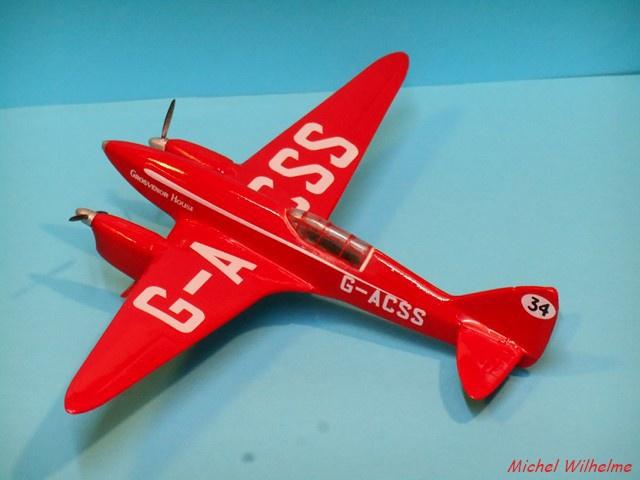 DE HAVILLAND D H88 kit Airfix 1959 944593DSCN9418Copier