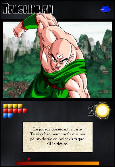 Jeu de cartes RPGDBZ 945635TenshinhancarteN30