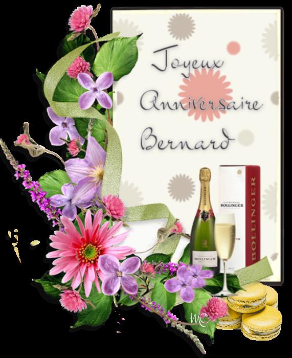 JOYEUX ANNIVERSAIRE BERNARD 945661anniversairebernard