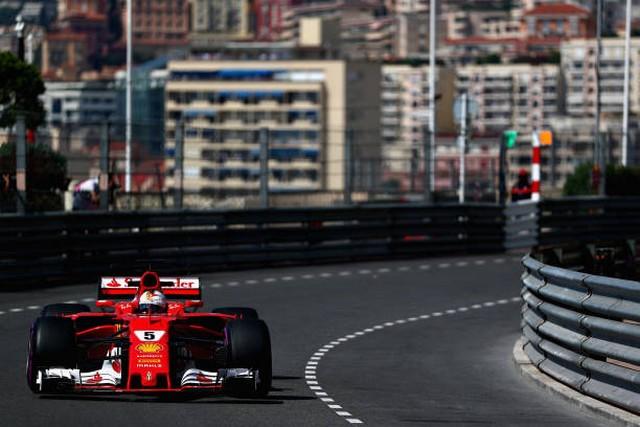 F1 GP de Monaco 2017 (éssais libres -1 -2 - 3 - Qualifications) 9456962017gpdemonacosebastianvettel
