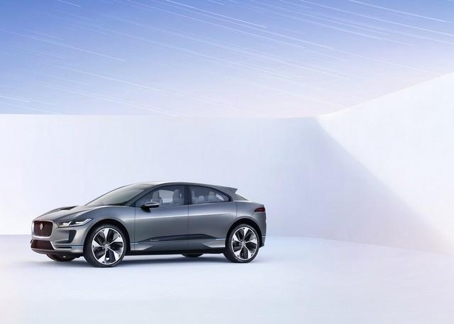 Jaguar Dévoile Le Concept I-PACE : Le SUV Électrique Performant 947183cropthumbnailjagipacestudioexterior14111601