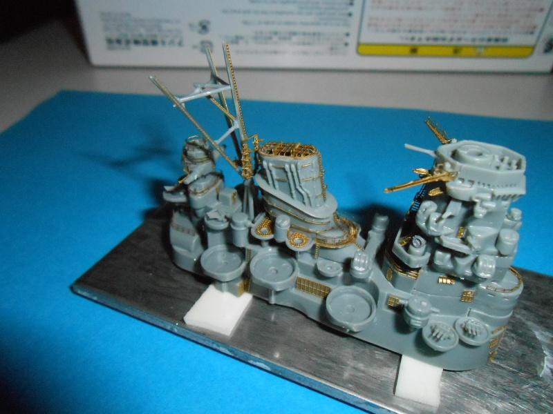 Yamato 1/700 fuji, PE,Pont en bois et babioles - Page 3 950405DSCN5398