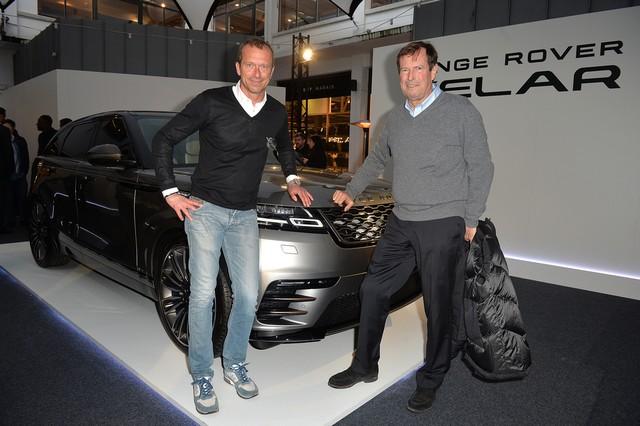 Le Range Rover Velar s'est dévoilé sur les toits de Paris 951192corpo0050