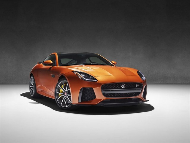Nouvelle Jaguar F-TYPE SVR : La Supercar Capable D'atteindre 322 km/h Par Tous Les Temps 951903JAGUARFTYPESVR38COUPEStudioLowRes