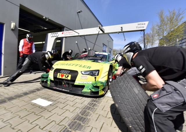Les équipes Audi Sport sont prêtes pour l'ouverture de la saison de DTM 952851A163111medium