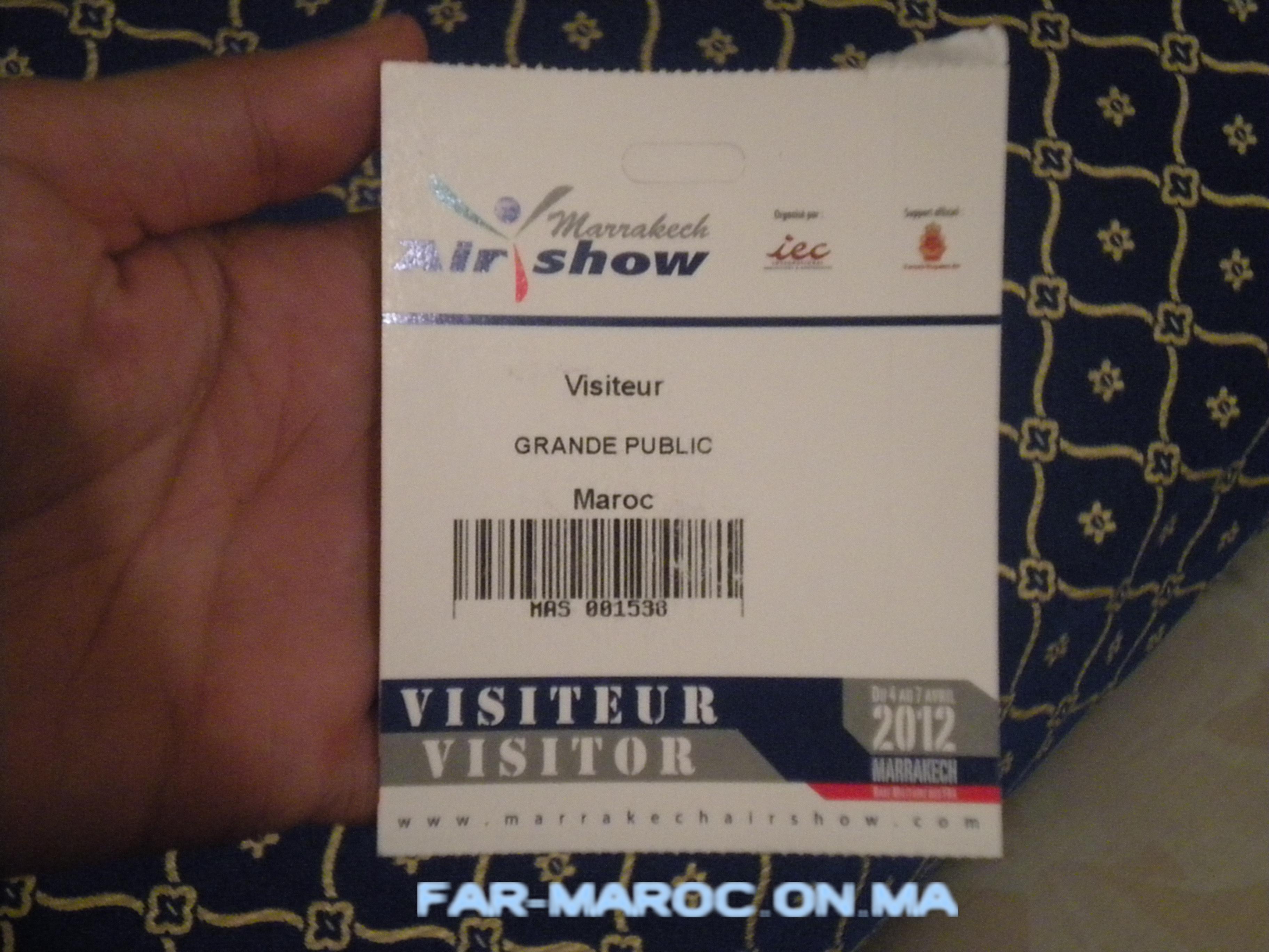 AeroExpo Marrakech 2012 / Marrakech Air Show 2012 - Page 5 953757DSCN1248