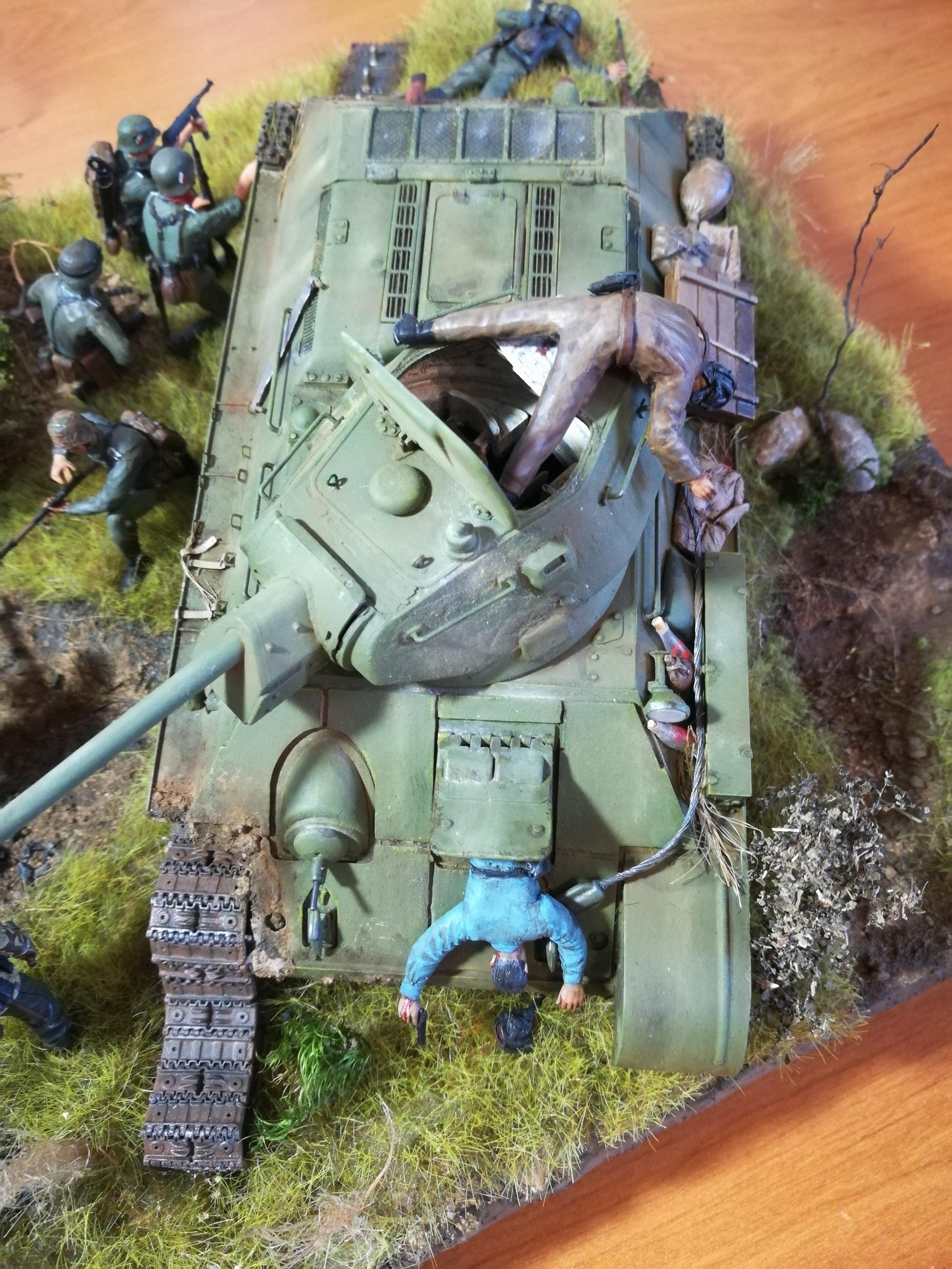 Front de l'Est, 1942 - T34 et Wehrmacht - Zvezda - 1/35 - Page 2 953943IMG20171219141113