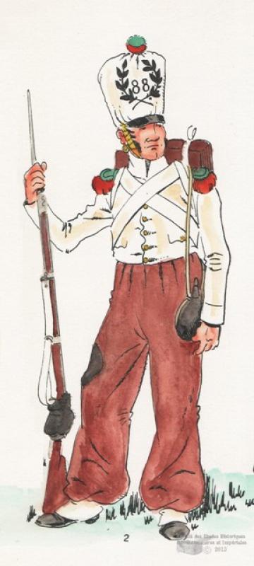 88e régiment d'infanterie de ligne 954166ico268088edeligneenespagne