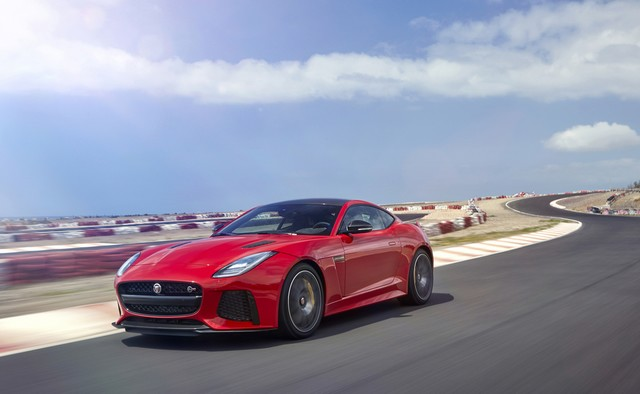 Lancement De La Nouvelle Jaguar F-TYPE Dotée De La Technologie GOPRO En Première Mondiale 954912jaguarftype18mysvrcoupelocationexterior10011703