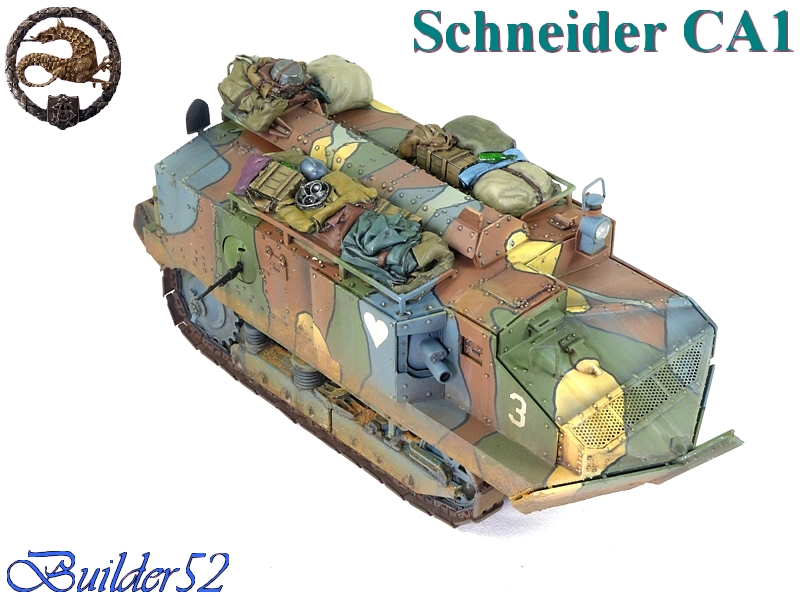 CHAR SCHNEIDER CA 1 - HOBBY BOSS 1/35 956807P1050072