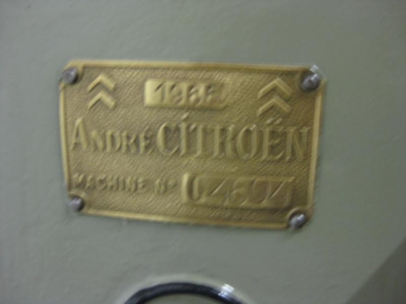 Visite au Conservatoire CITROËN en 2010 957775IMG0090