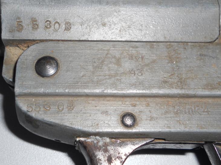 Leuchtpistole Zink 4 - ayf 43 / pistolet lance fusées  95835187z4