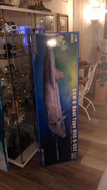 U-552 TRUMPETER Echelle 1/48 960107P201712041923381