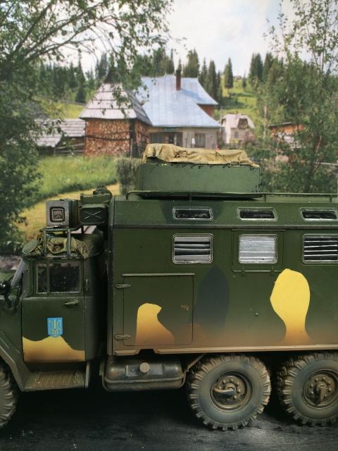 ZIL-131 KShM (Ukraine Army°) 1/35 ICM 960900crosstherhine004