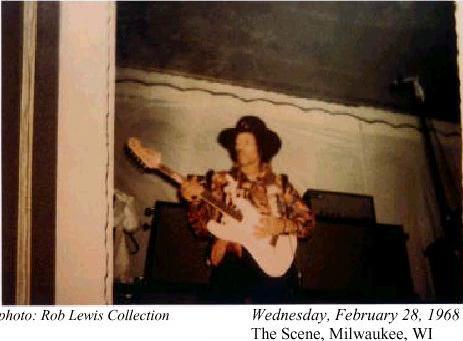 Milwaukee (The Scene) : 28 février 1968 [Second concert] 96141319680229002
