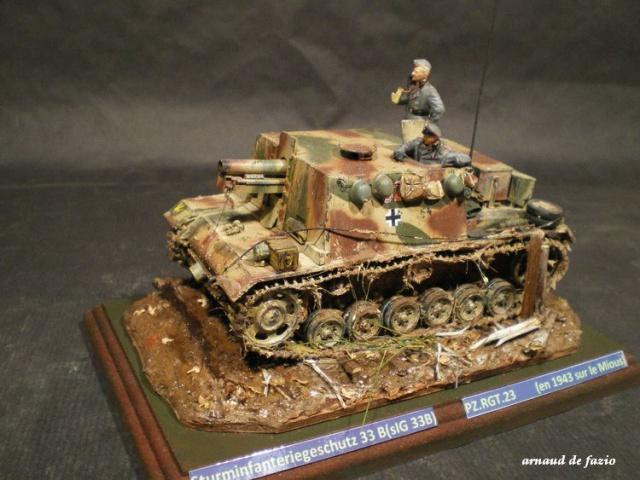 sturminfanteriegeschutz (sIG 33 B)     pz.regt.23 en 1943 sur le mious 962254IMGP1835