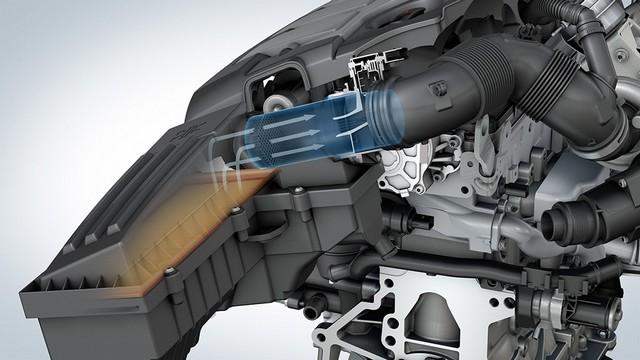 Les mesures techniques des moteurs diesel EA 189 concernés présentées à l'Autorité Fédérale Allemande des Transports (KBA) 962597md16tdiengineea189flowstraightener4