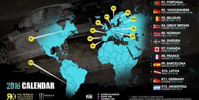 Rallycross – Le calendrier 2016 dévoilé 9631798131