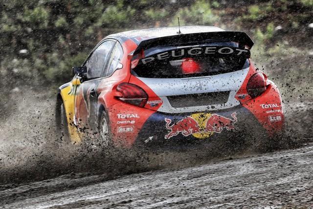 Les PEUGEOT 208 WRX enflamment la Suède - 2ème et 3ème en World RX et victoire en EURO RX 965357wrx201607020229