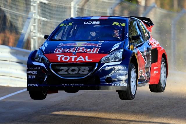 Rallycross - Sébastien Loeb remporte sa première victoire au volant de la PEUGEOT 208 WRX ! 967291wrx2016100100500