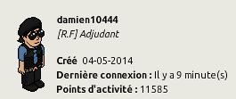 [P.N] Rapports d'activités de damien10444 - Page 3 968357Connexion