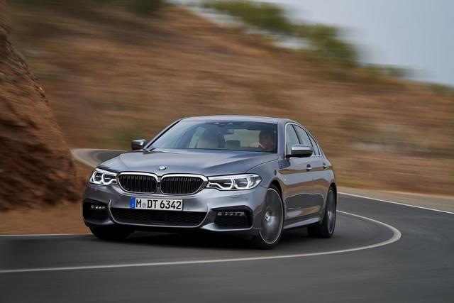 La nouvelle BMW Série 5 Berline. Plus légère, plus dynamique, plus sobre et entièrement interconnectée 968535P90237240highResthenewbmw5series
