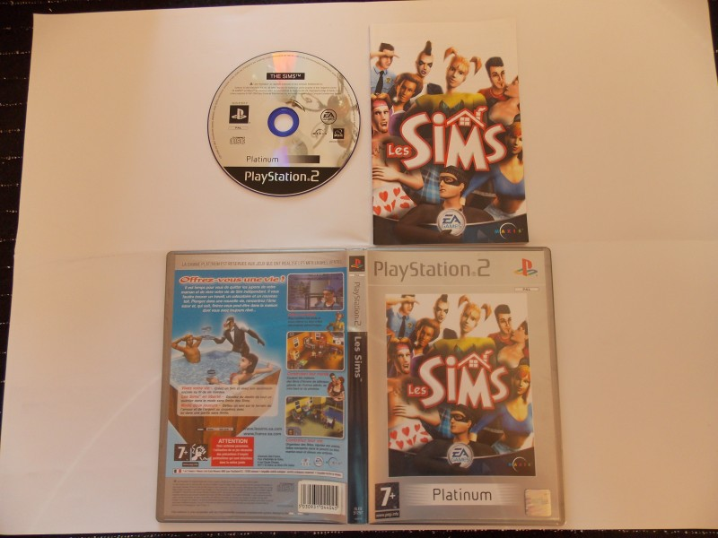Les Sims 968783Playstation2LesSimsplat