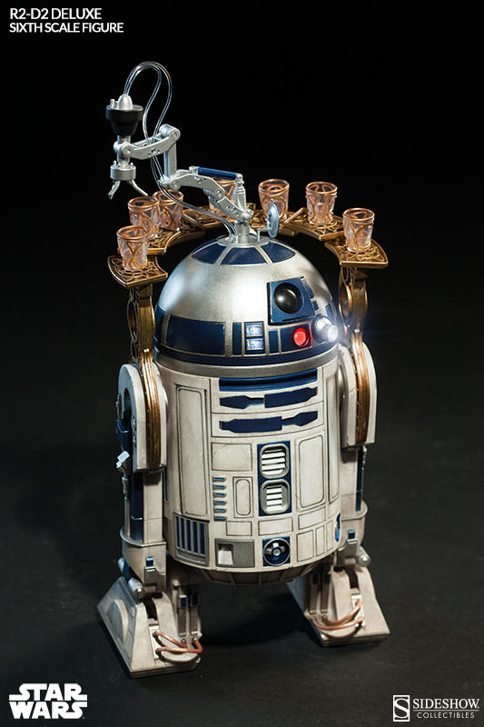 Sideshow - R2-D2 Deluxe Sixth Squale Figure 9695682172r2d2deluxe009
