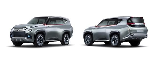Mitsubishi présente ses trois concepts 970033lineupcar01main