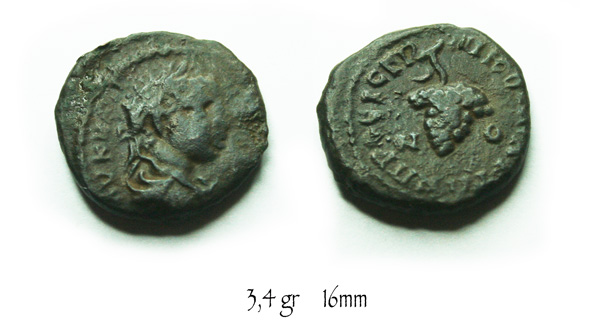 bronze d'Elagabal pour Nikopolis 971356A006