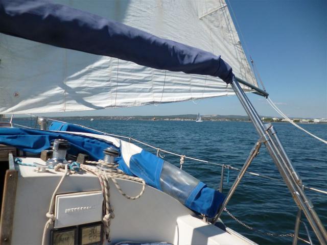 voiles - Un catboat de croisière... kesaco ? 971626P1020312