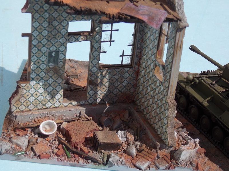 SU 76 M Tamiya et ruine Verlinden 1/35 - Page 5 972436DSCN4402