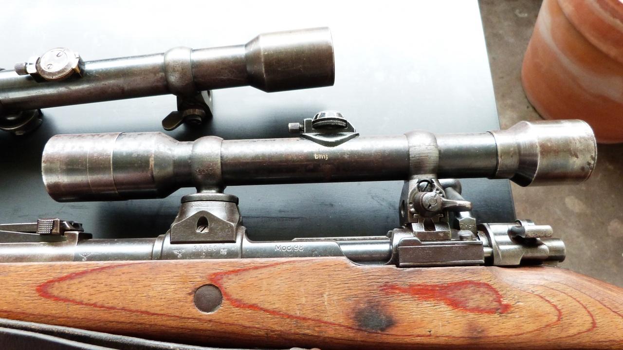 L'arme du tireur d'élite allemand de la Wehrmacht (1939-1945) : le Mauser K98k 974238P1020149
