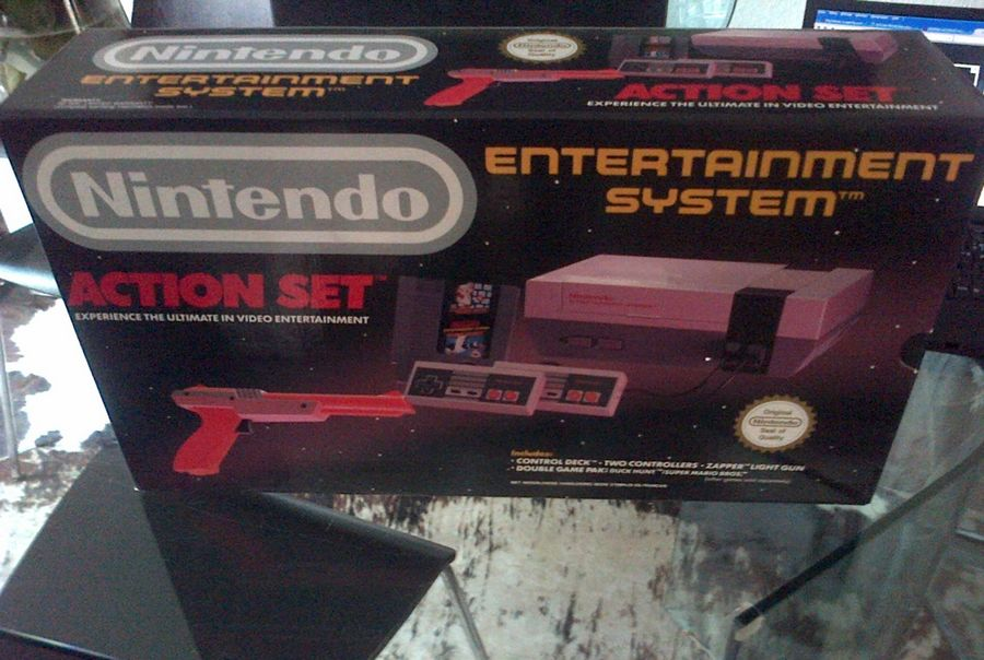 Informations Pack Action Set Nes 976084502573NES1