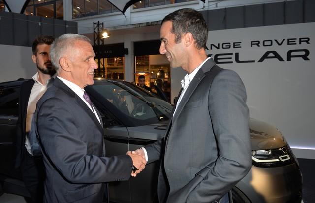 Le Range Rover Velar s'est dévoilé sur les toits de Paris 976308corpo0033