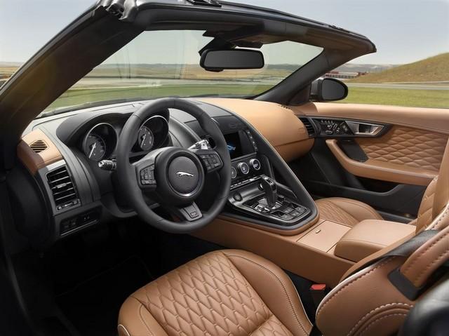 Nouvelle Jaguar F-TYPE SVR : La Supercar Capable D'atteindre 322 km/h Par Tous Les Temps 977532JAGUARFTYPESVR30CONVERTIBLEInteriorLowRes
