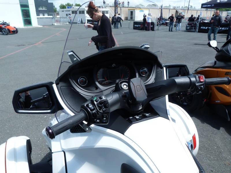 CR & Photos : TSO 17/05/15 : Essai du Can Am SPYDER F3-S et du RT-Limited 979939P1170645