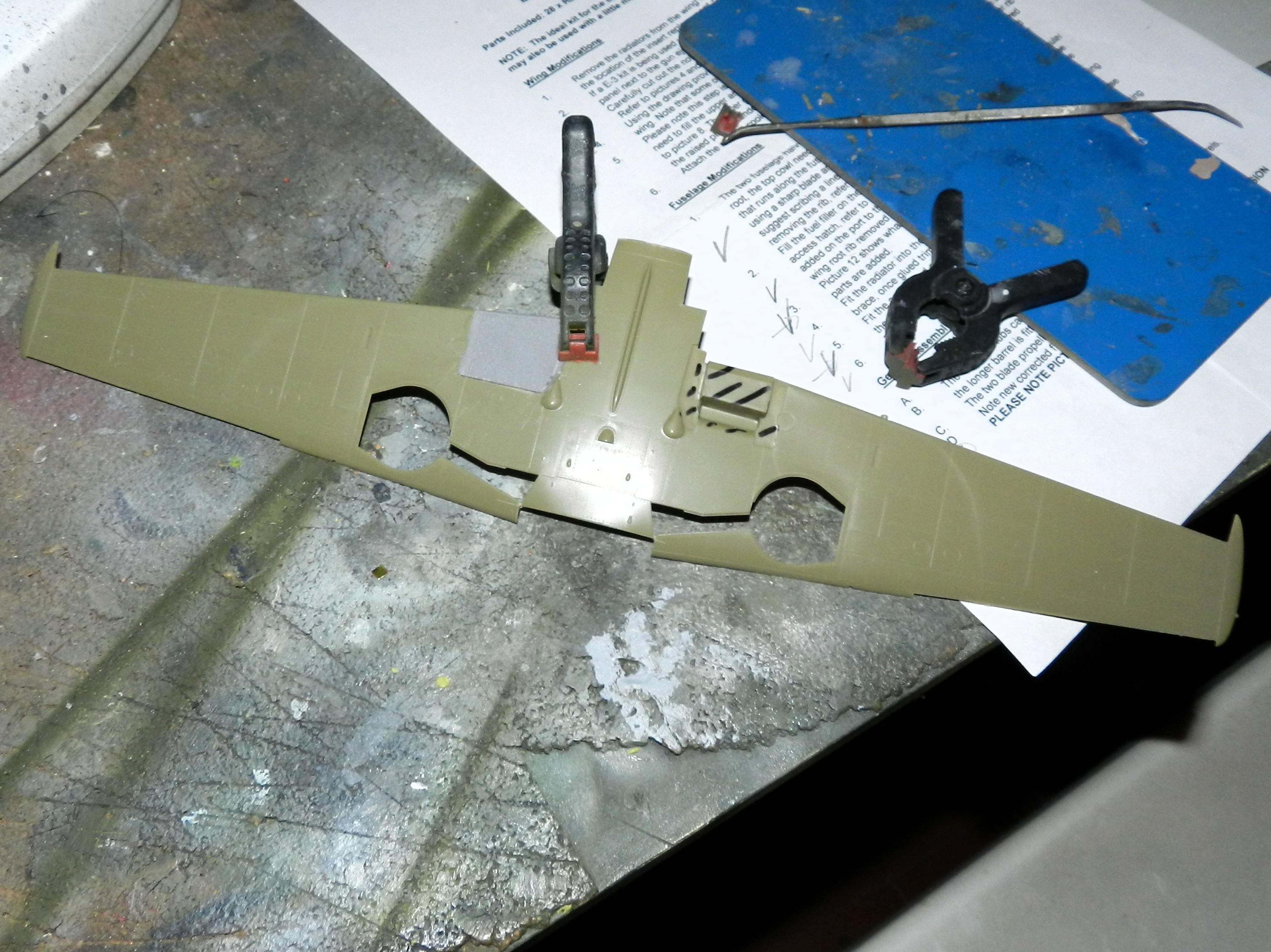 """Messerschmitt Bf 109 D """"Gelbe 1"""" I./3./JG 21 - Septembre 1939 - 1/32 - Page 4 980366DSCN3070"""