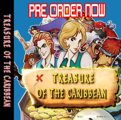 Un nouveau jeu AES Treasure Of The Caribbean 980683preorderface