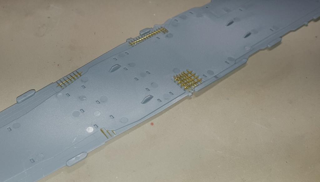 AKAGI 1/700 Hasegawa Kit PE et Pont en bois 98165820160313092836